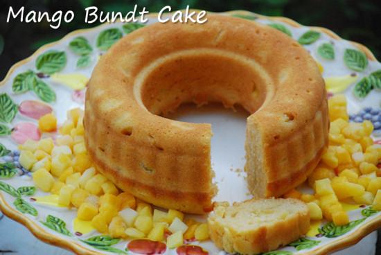Mango Bundt Cake