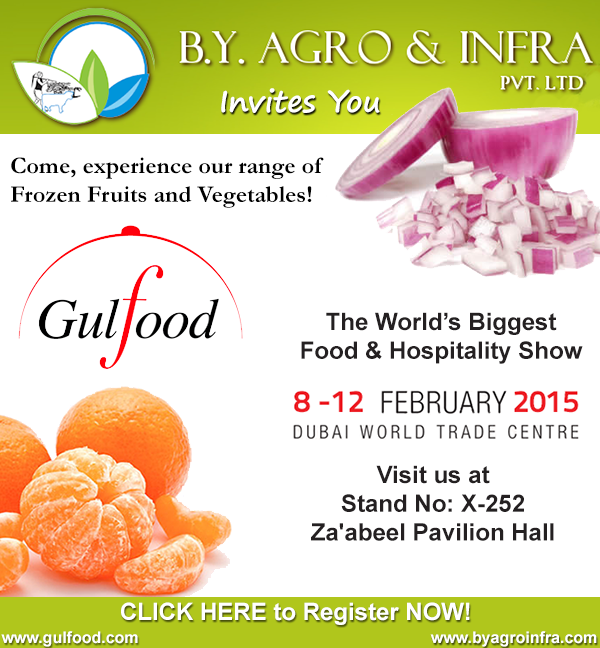 B.Y. Agro & Infra at Gulfood 2015 - A Curtain Raiser