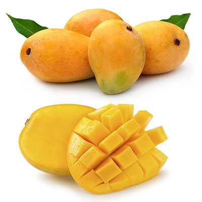 Fresh Indian Mango for IQF Frozen Mango Dices and Slices - Alphonso, Banganapalli, Kesar, Langda, Neelam