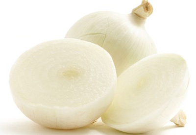 Freshly Harvested White Onions for IQF Sliced White Onions