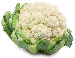 Freshly Harvested Cauliflower for IQF Cauliflower Florets